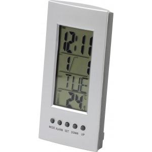 Asztali ébresztőóra/hőmérő/naptár